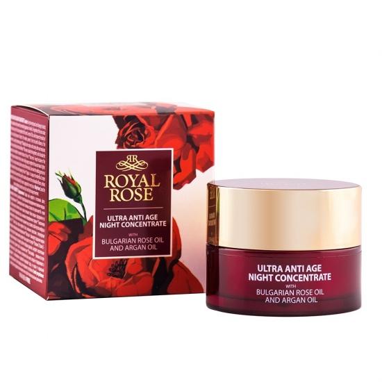 ROYAL ROSE Kem dưỡng da ban đêm chống lão hóa nâng cơ mặt tinh chất hoa hồng 40ml